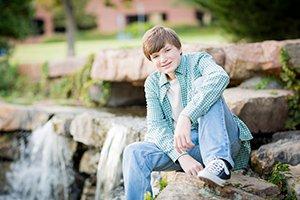 senior photo at centennial park