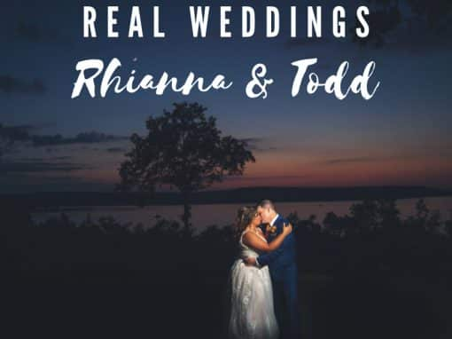 Real Weddings: Rhianna & Todd