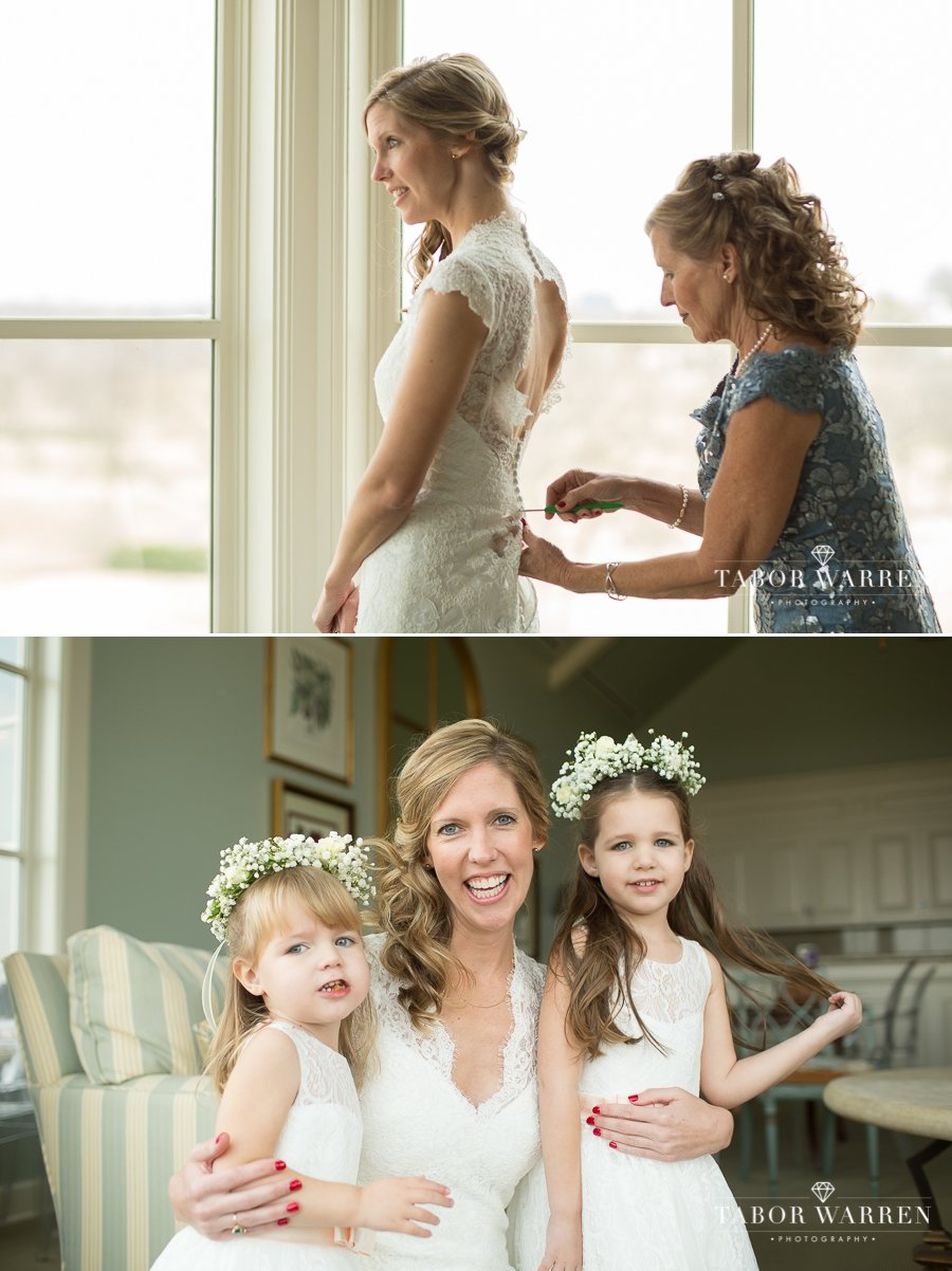 Southern Hills Country Club wedding bride