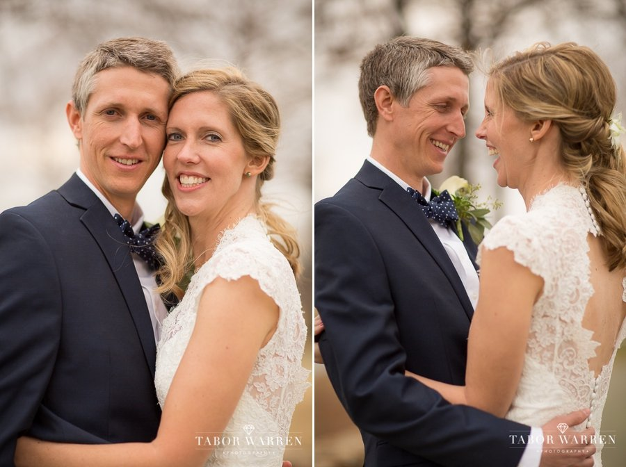 Southern Hills Country Club wedding bride and groom