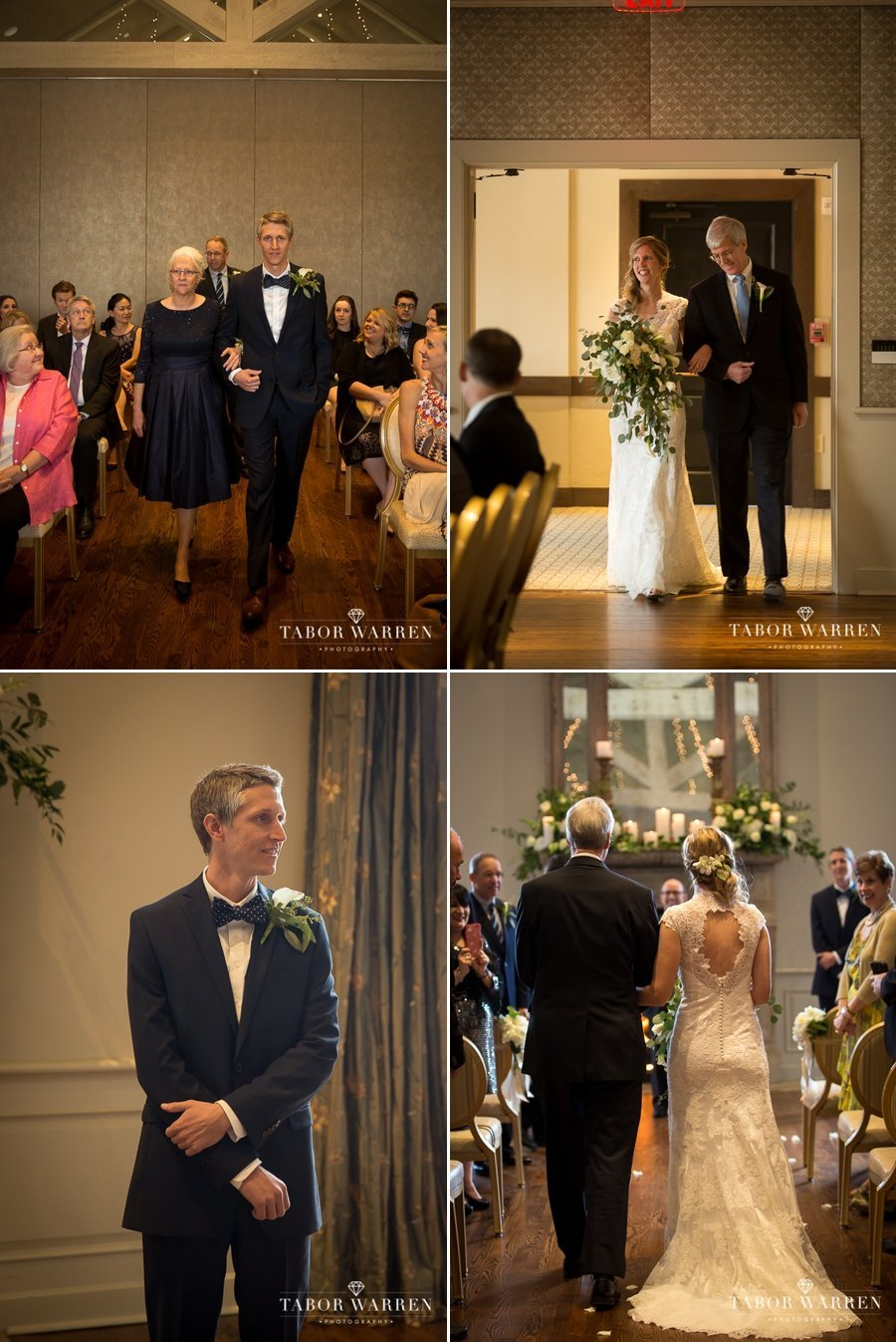 Southern Hills Country Club wedding ceremony